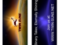 Twin Suns Foundation logo bookmarks